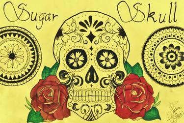Sugar Skull by RoseGoldVelvet