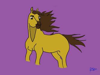 Spirt Stallion of the Cimarron by InfinityandBeyond2