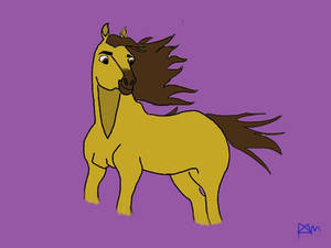 Spirt Stallion of the Cimarron