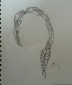 Playing with hair