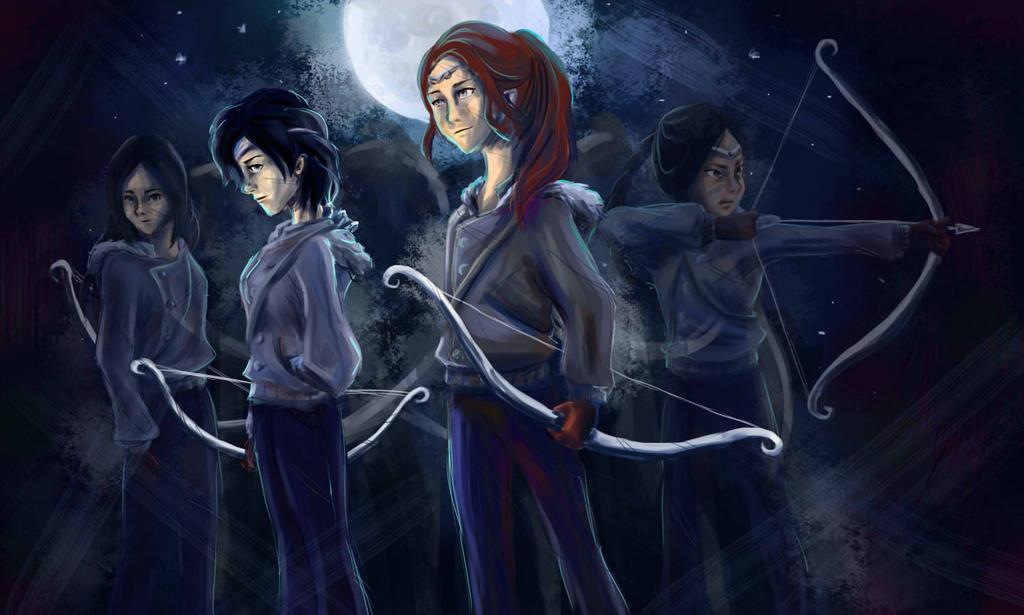 Hunters of Artemis by taratjah on DeviantArt
