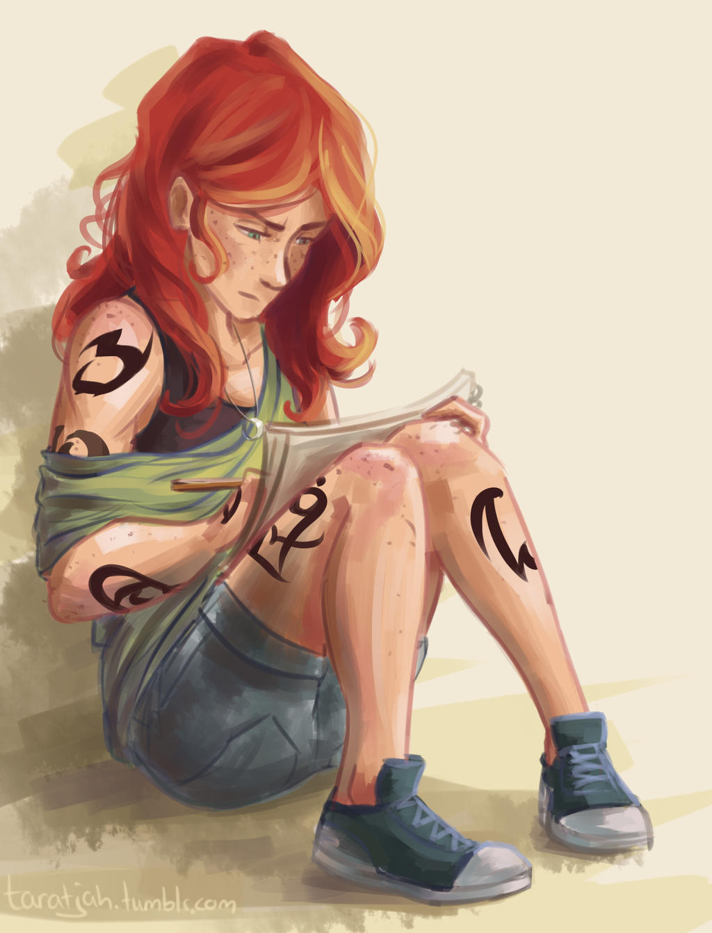 Clary Drawing by taratjah