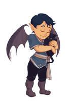 Baby Rhys Hugs by taratjah
