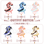 [SET PRICE|CLOSE]OUTFIT BATCH!