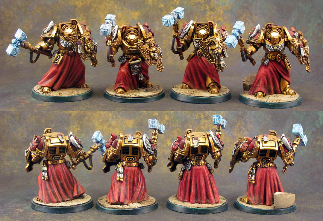 Blood Sin Honour Guard Terminators by Girot