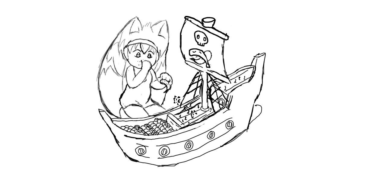 Kasha's Sushi Boat by tokotiger