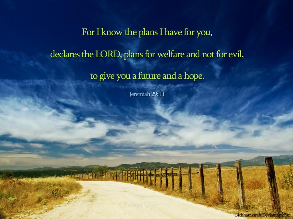 Jeremiah 29 11 by bickhamsarah on deviantart - Jer 29 11 kjv ...