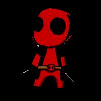 Chibi Deadpool by TheImmortalPizza