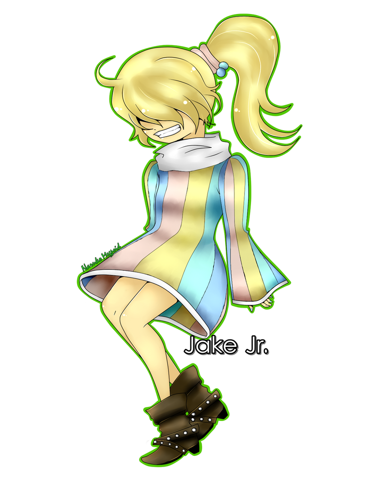 Jake jr~ by NarukoMegpoid