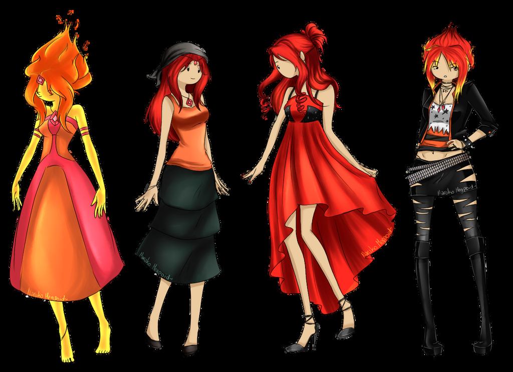 Flame Princess~ Kiriban for Master23membrillita by NarukoMegpoid