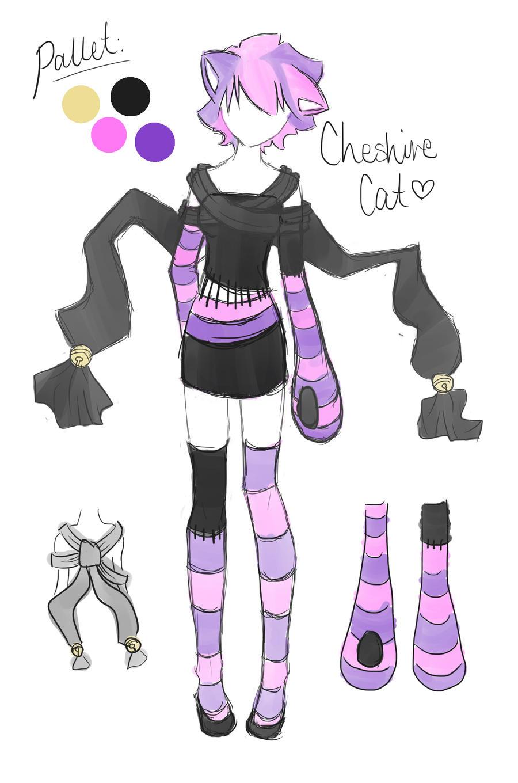 Cheshire Cat Costume Design! by Roezlight on DeviantArt