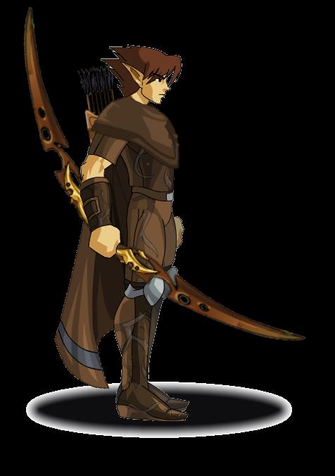 Elf Hunter by MephilesAE