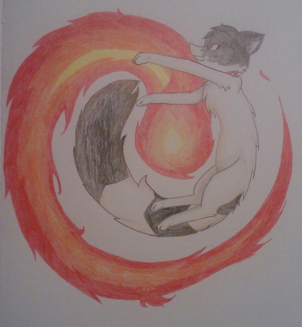 Fire Queen (Art Trade) by Zeldeon