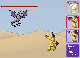 Pixel Battle by Zeldeon