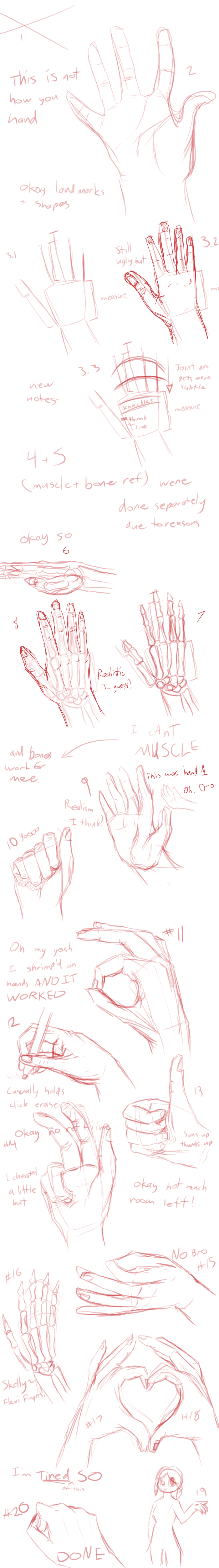 4- 20 hands of struggle by Zeldeon