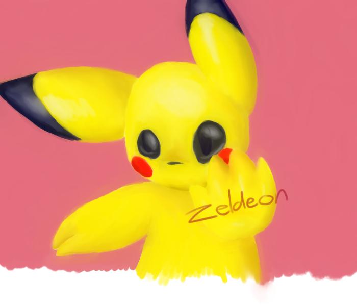 Pika Paint by Zeldeon