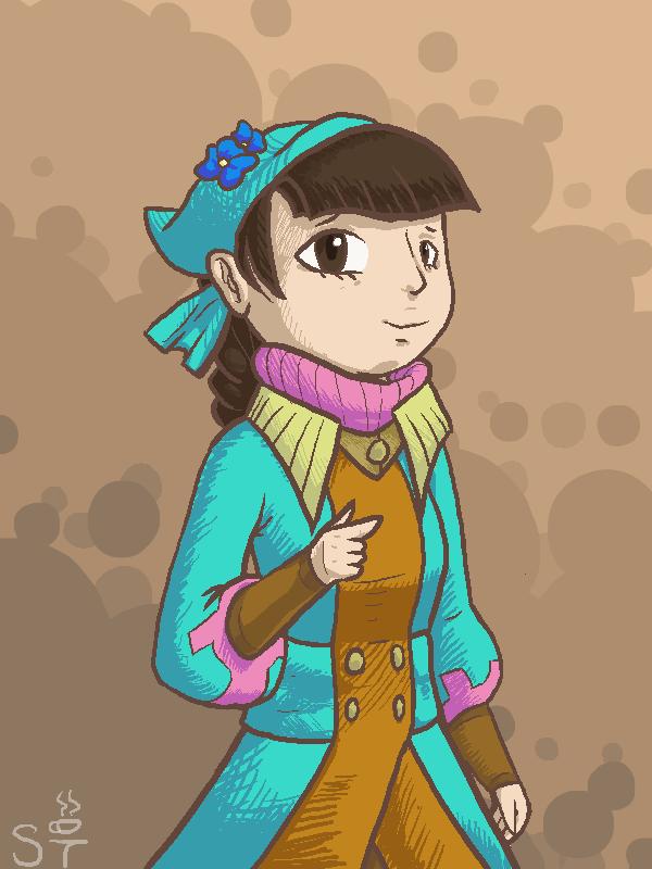 Ura Girl by Zeldeon