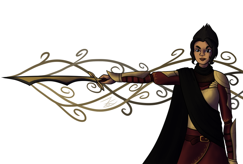 It's a magic sword by Zeldeon