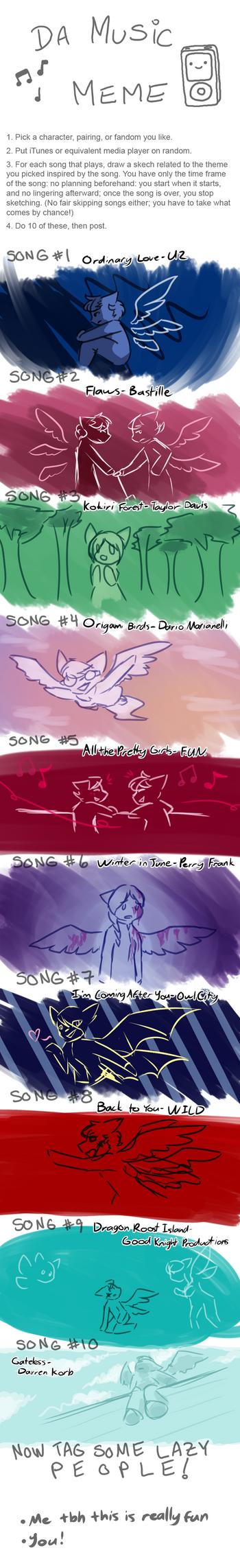 Music Meme 2 by Zeldeon