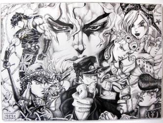 JoJo's Bizarre Adventure by HiroshiDavide