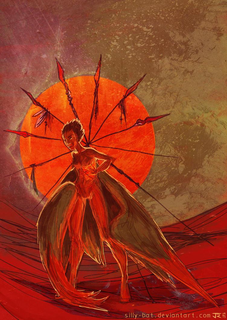 spearwheel by Silly-Bat