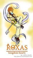 Kingdom Hearts 2 - Roxas by J4ne-d-C4t