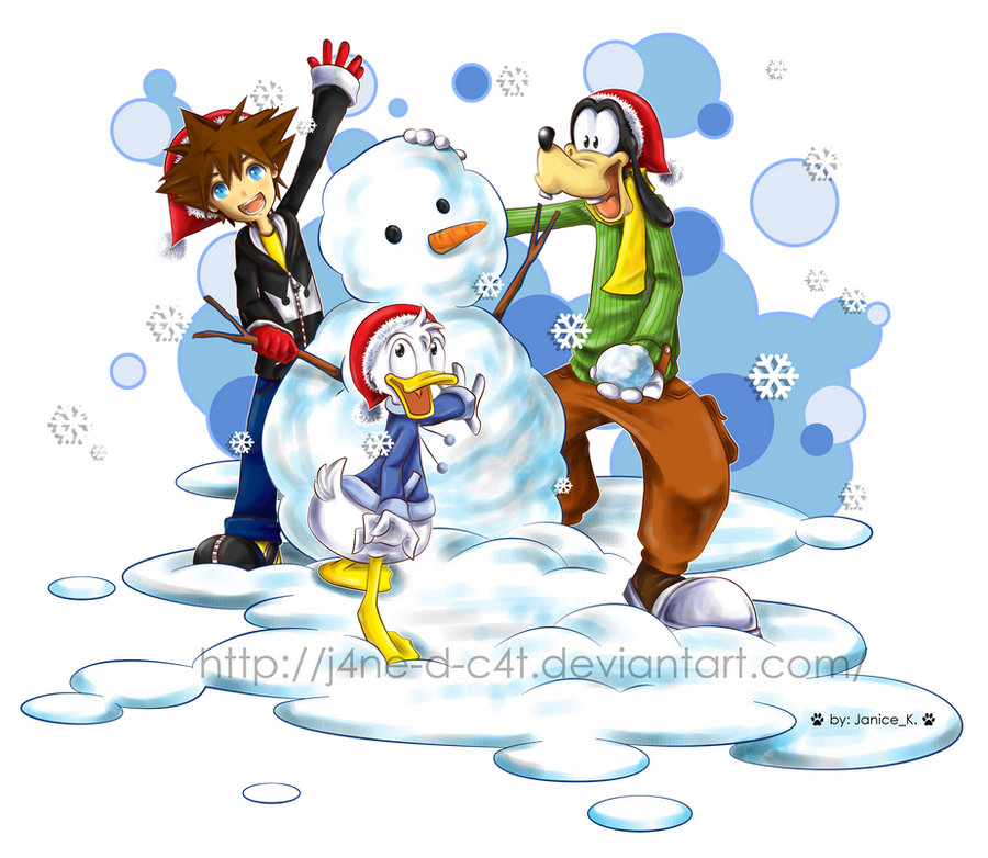 KH Christmas 2010 by J4ne-d-C4t on DeviantArt
