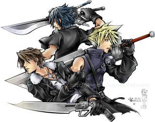 Squall Cloud Noctis by J4ne-d-C4t