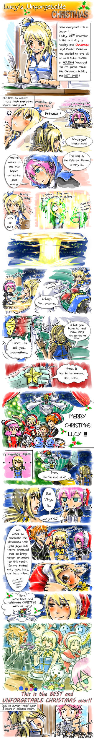 Lucy's Christmas by J4ne-d-C4t