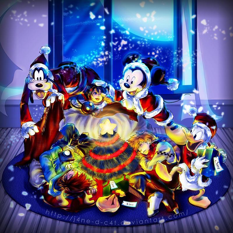 Kingdom Hearts Sora S Room