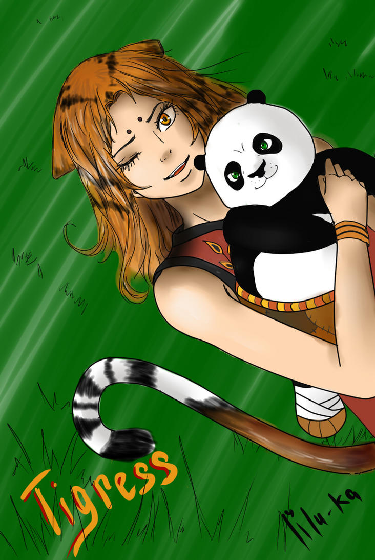 Tigress (human) Kung fu Panda by lilu-Ka on DeviantArt