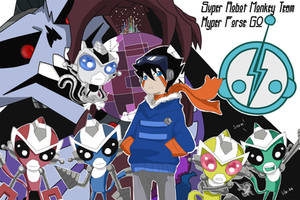 Super Robot Monkey Team Hyper Force Go! by lilu-Ka