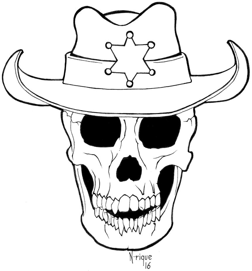 TDS skull Logo by devianrique