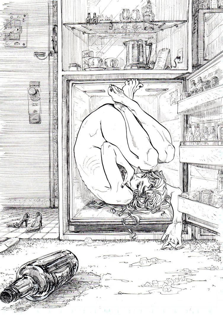 fridge by jeeyon