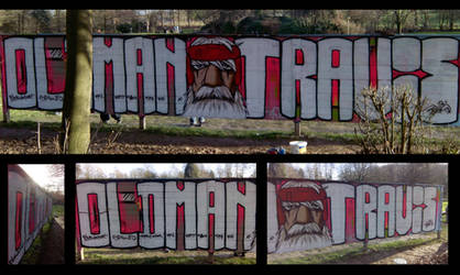 backyard practice 17+n: Old man Travis by travisone