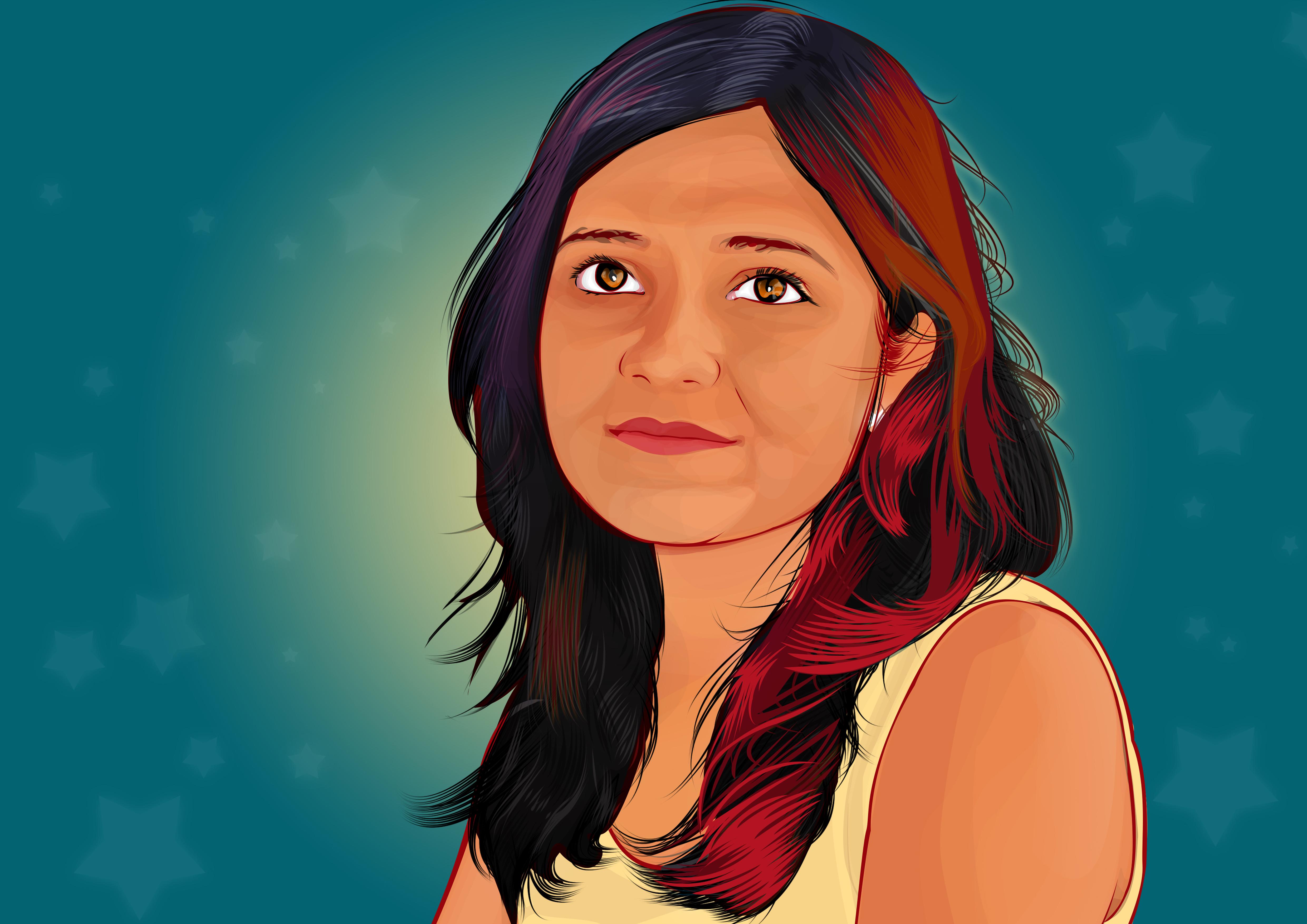 Vexel Portrait by niteenautade