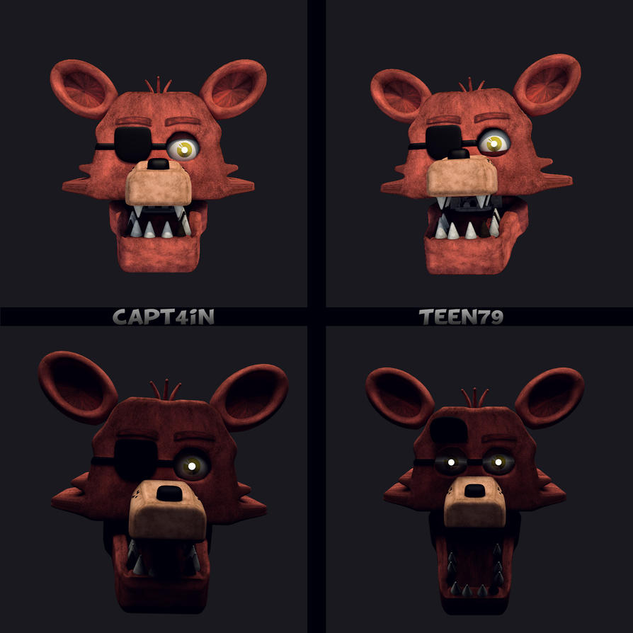 Foxy! (Head) By Capt4inTeen79 On DeviantArt