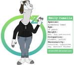 Zootopia OC - Emily Camella (EC) by EmilyVanSlyke