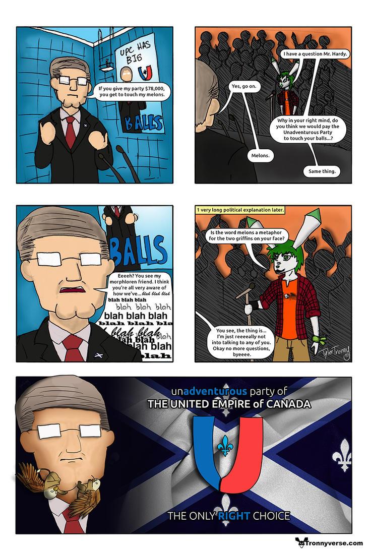 Tronnyverse Stories:  Shameless Politics by CaptainTronny