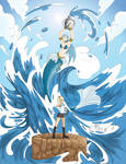 Lucy and Aquarius Fan Art