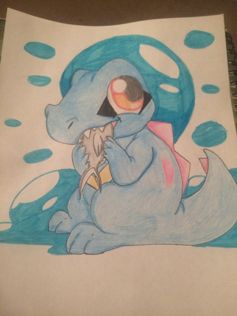 Totodile by jessicaosteen96