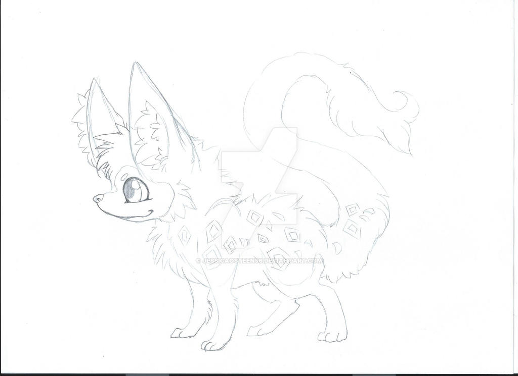 Weasel wolf redraw by jessicaosteen96