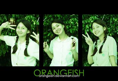 ID - School Girl 2 by orangeish