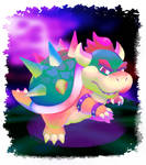 bowser in the sky
