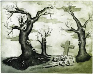 engraving tree