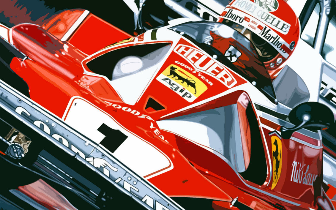 ferrari on speed by at gallery paintings art robert fine original mittenmaier c narrow