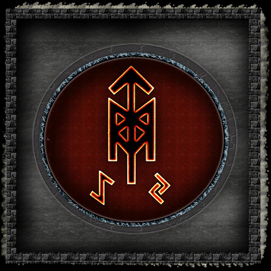 Hildr.Symbol by bloodtrailkiller