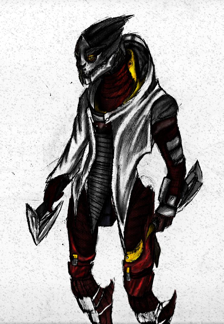 Khorvus.Colored by bloodtrailkiller
