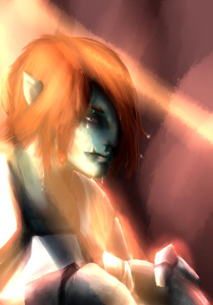Onnet.Portrait by bloodtrailkiller