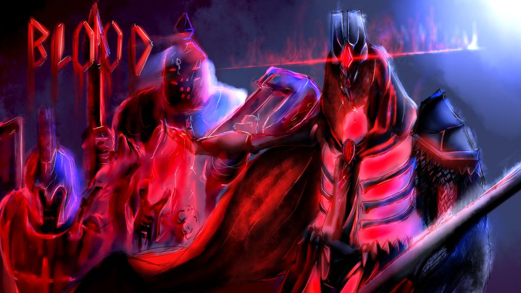 Egret of Blood by bloodtrailkiller